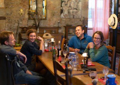 Table d'hôtes in de Gravenzaal