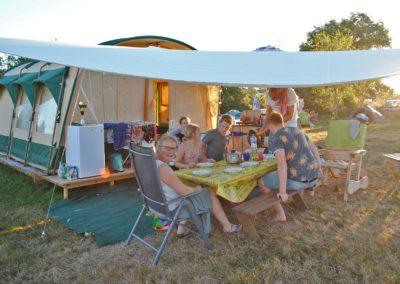 Camping Brénazet, Tunneltent