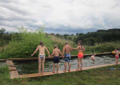 Zwembad op Brénazet
