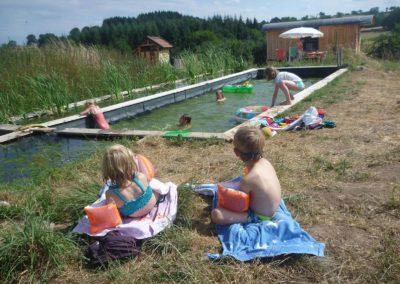 Camping Brénazet zwemvijver