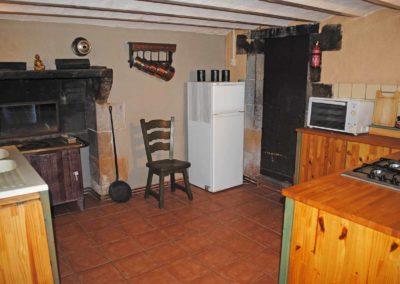 Vakantiehuis Four à pain, keuken