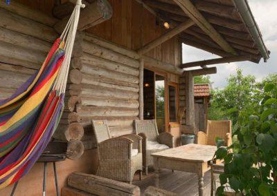 Cottage The log cabin, Brénazet, Allier, Frankrijk