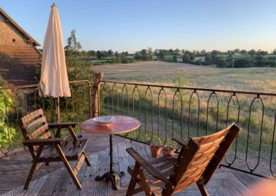 Brénazet, gîte, holiday home, Bellevue, summer 2020