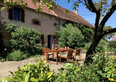 Brénazet, gîte, holiday home, Four à pain, summer 2020